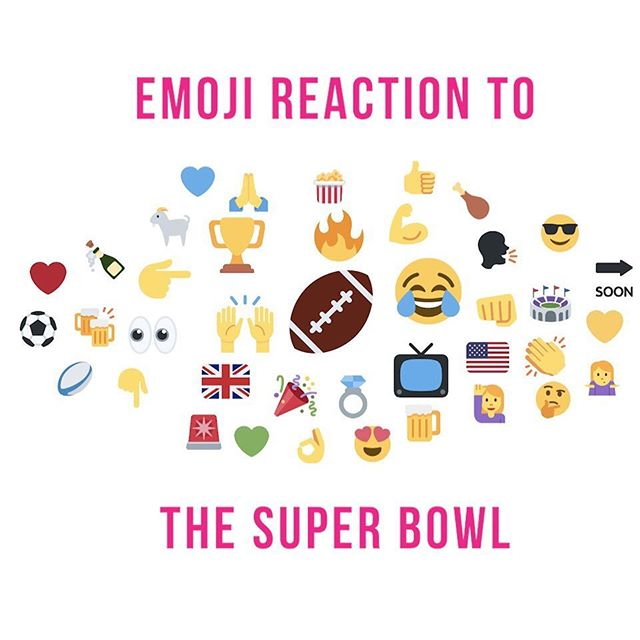 The Emoji Report this week is all to do with the Super Bowl. On the 3rd of February, it seemed as though the whole world watched the Super Bowl, and our Emoji Report is here just in case you missed it! 🏈 is the largest emoji on the report this week, as people tweeted it alongside updates and congratulations. 📺 was also one of the largest emojis on the report, as people from all over the world watched the game. Finally, 🐐 makes another appearance on the report this week, as Tom Brady is named the G.O.A.T: Greatest Of All Time. • • • #TheSuperBowl #SuperBowl #SBLiii #EmojiReport #TomBrady #Goat #TV #NFL #LAR #NEP