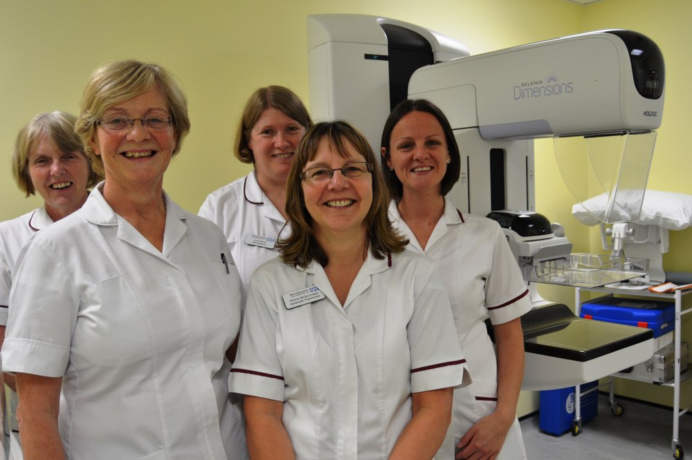 Herefordshire and Worcestershire Mammography radiographers