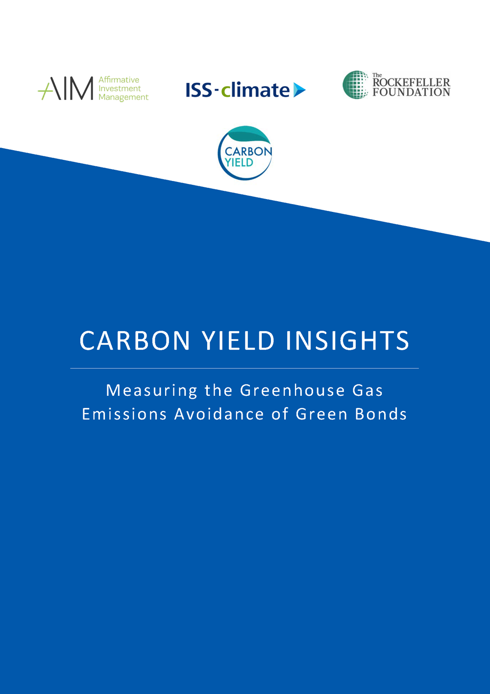 Carbon Yield Insights - The new Carbon Yield Insights Report summarizes AIM's experience with ISS-climate in applying the Carbon Yield and five key findings, over a broad range of issuers – from European corporations to multinational development banks – and more importantly, a broad range of funded activities across a breadth of geographies.