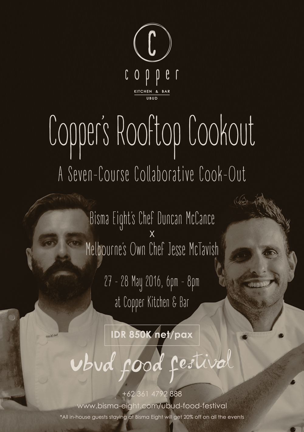COPPER'S ROOFTOP COOKOUT!