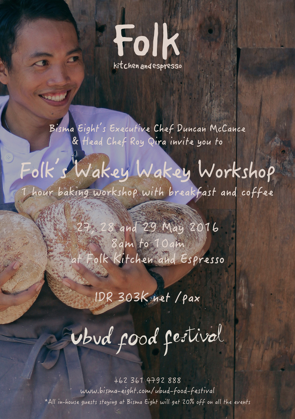 FOLK'S WAKEY WAKEY WORKSHOP!
