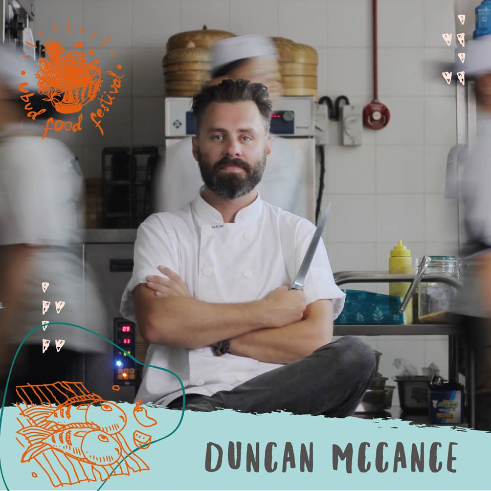 Bisma Eight's Executive Chef, Duncan McCance