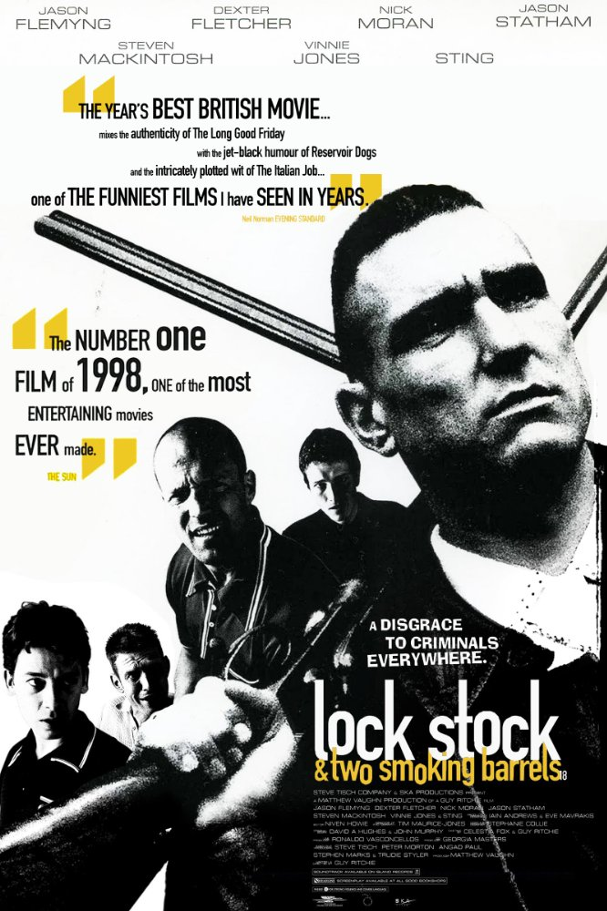 Lock, Stock and Two Smoking Barrels (1998) – Jason Flemyng, Jason Statham