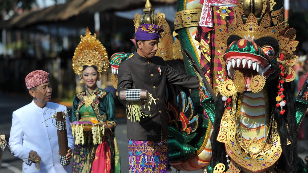 President of Indonesia, Joko Widodo opened 38th Bali Arts Festival