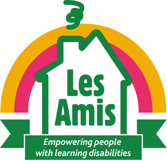 Please click this logo to donate to Les Amis