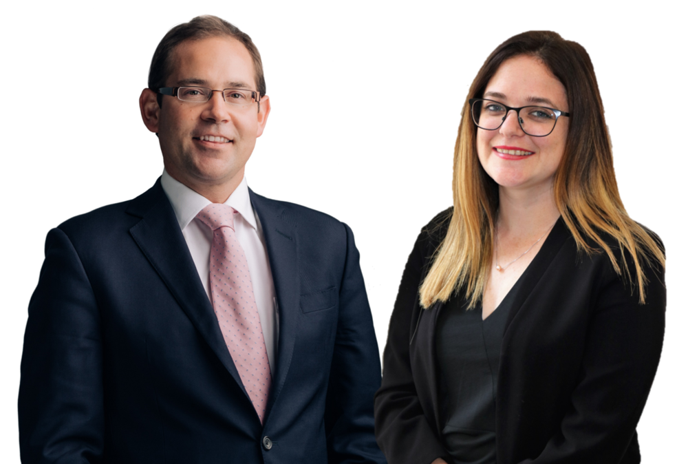 James Mews, Counsel and Roisin Hocking, Legal Assistant