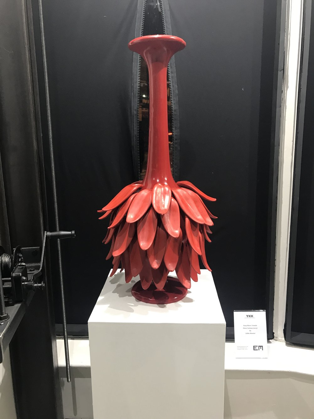 FLORA CURIOSA (2015)  Material: urethane and silicone rubber