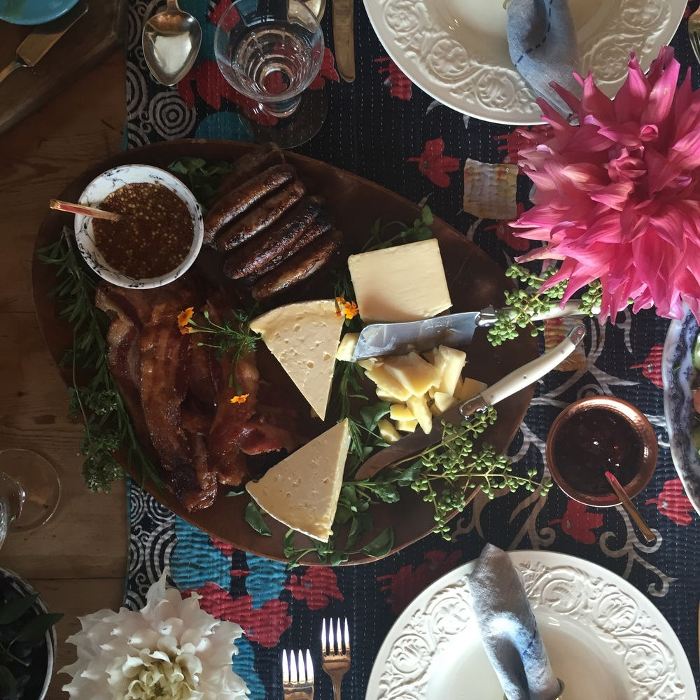 Brunch charcuterie photoshoot sneak peek!