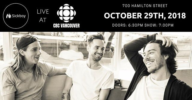 Fresh off of sold out shows in Ottawa and Toronto the fellas are once more traveling across the country to hear stories from sickos on the west coast! Their very first LIVE show in Vancouver will be a memorable one! Don't miss out!  CBC Vancouver presents the very first Sickboy LIVE! show from downtown Vancouver! 😷ticket link in bio😷 photo: @photomunn