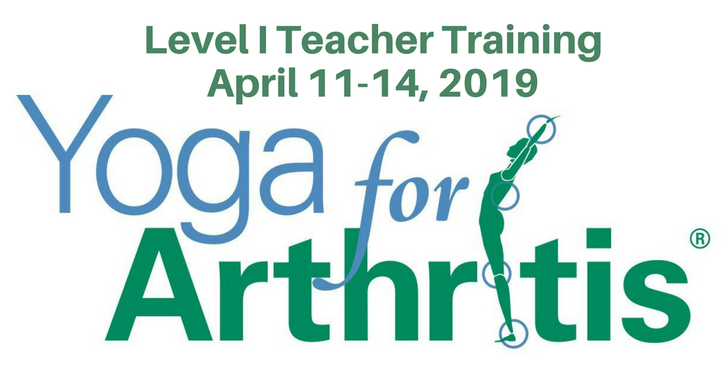 Yoga For Arthritis Teacher Training Chicago April 2019 Wellness For Arthritis