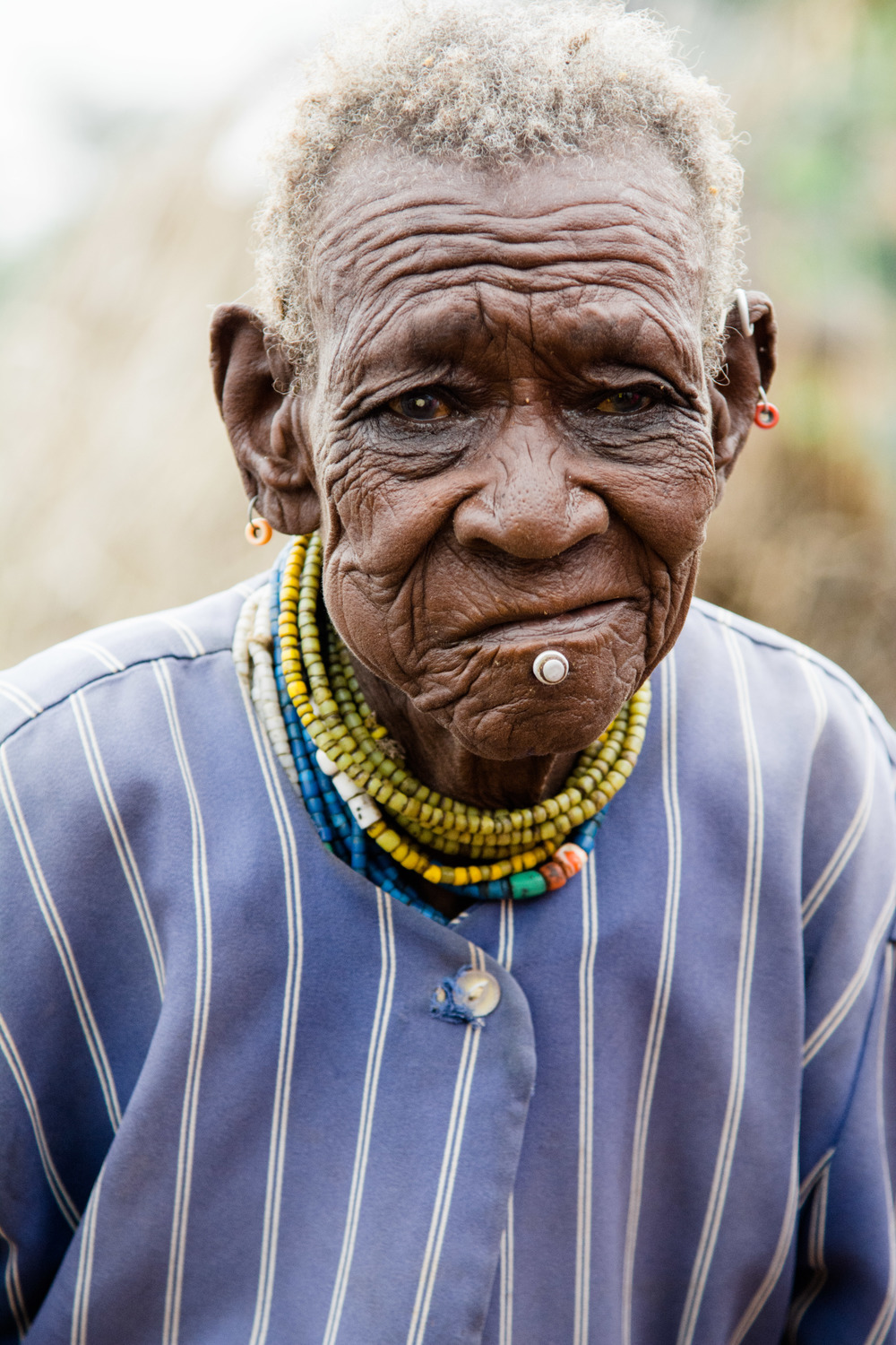 A Turkana woman who guessed she was around ninety years old.