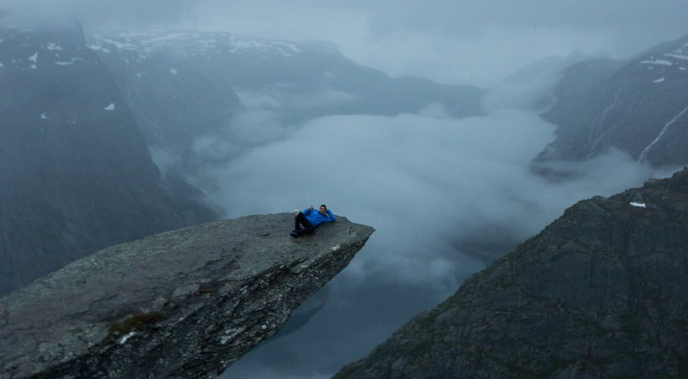Trolltunga (Norway), June 2017