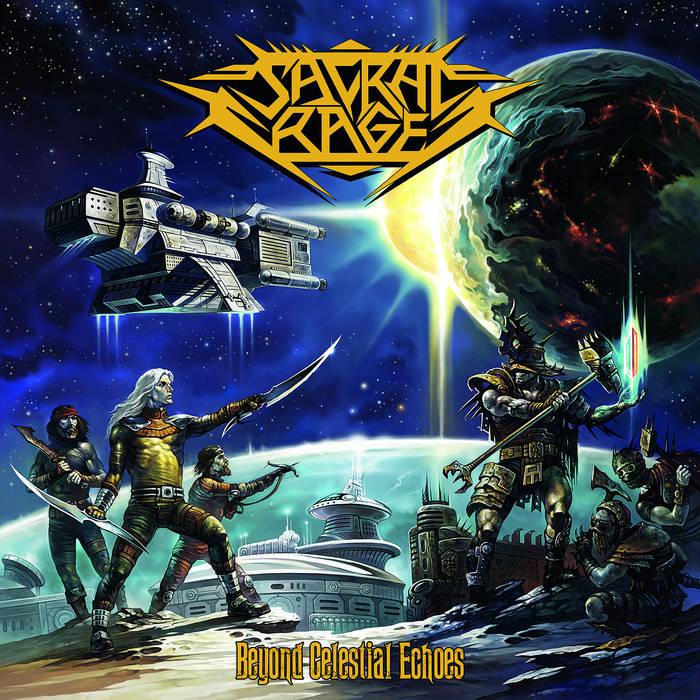 5. Sacral Rage - Beyond Celestial Echoes - Full album stream - https://sacralrage.bandcamp.com/album/beyond-celestial-echoes