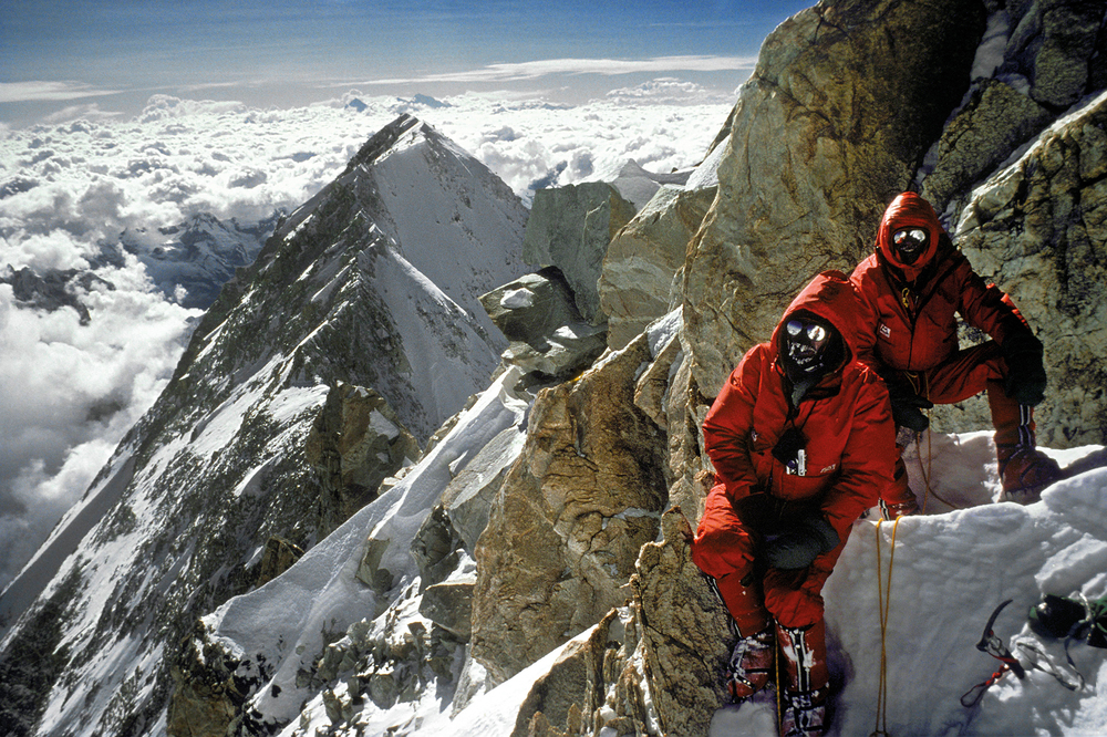 1979 Kanchenjunga Peter B & Joe T, West Ridge, Kangchenjunga.jpg