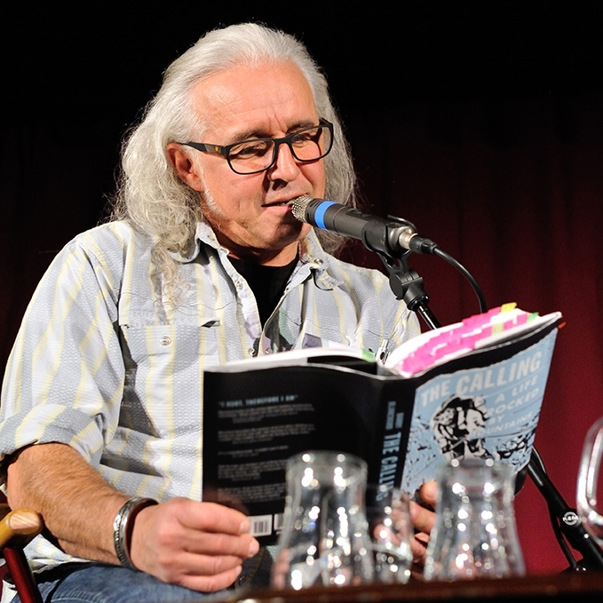 Barry Blanchard reading from his book at the Award Ceremony 2015 Image © Henry Iddon