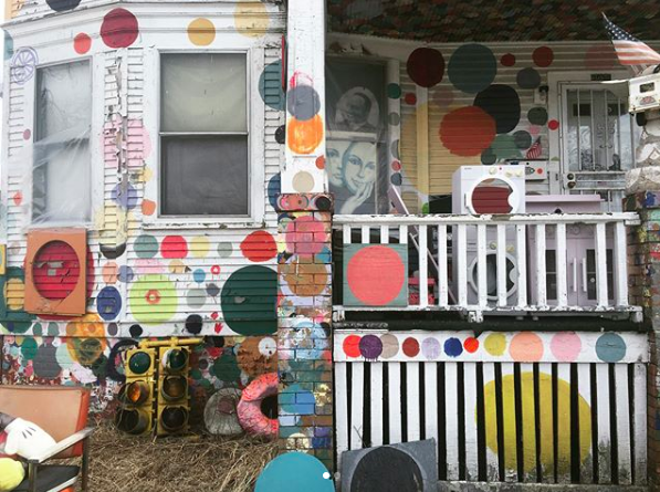 The Heidelberg Project in Detroit.
