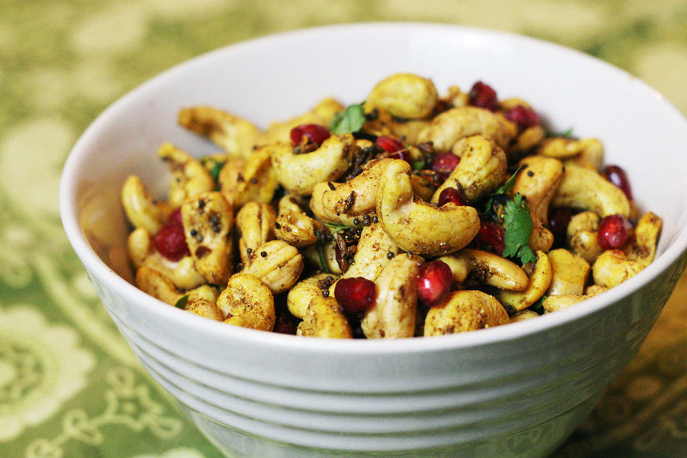 Indian Hot and Sour Cashews