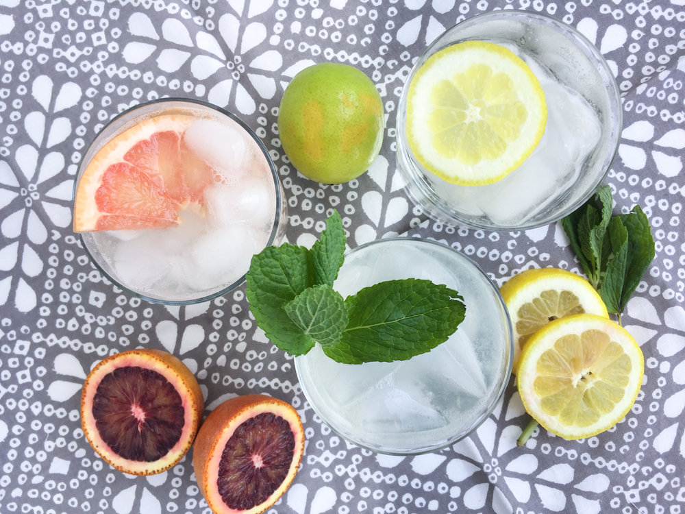 DIY flavored sparkling water recipe