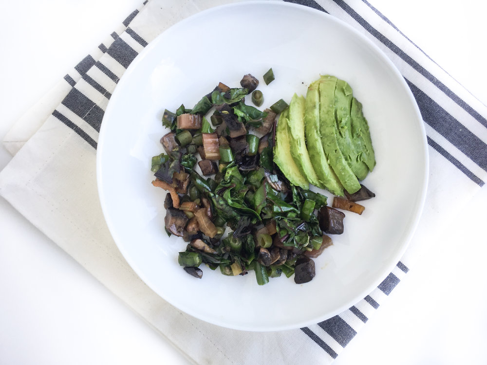 veggie breakfast bowl recipe
