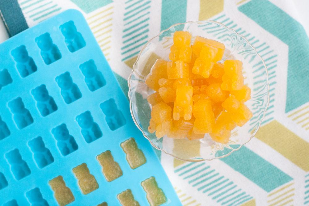 peach gummies recipe
