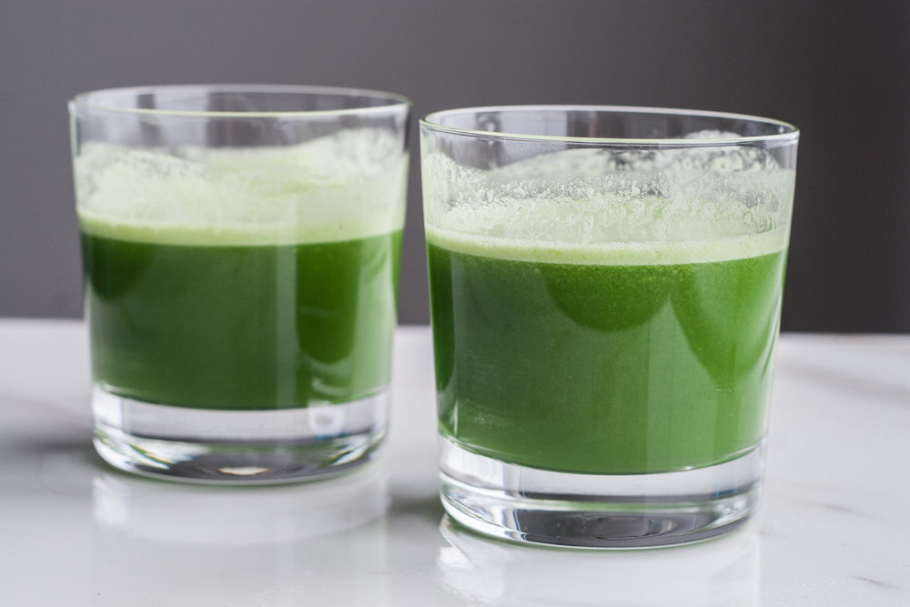 basic beginner green juice recipe