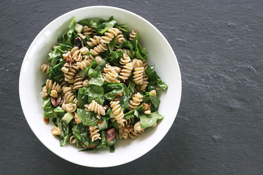 spinach walnut pasta