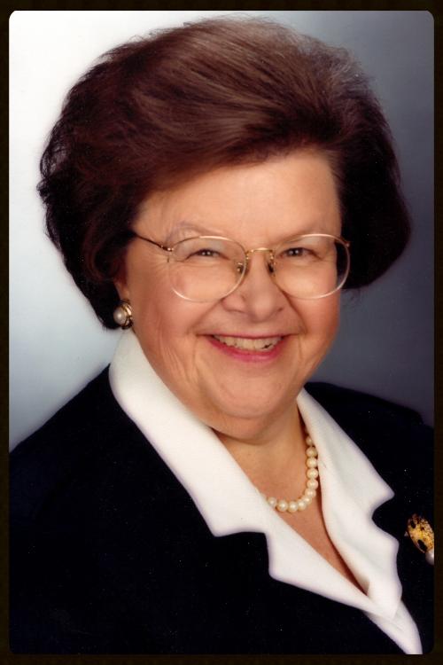 Honorable Barbara Mikulski Senator (D-MD)