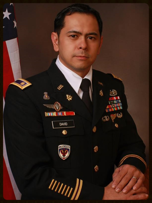 MAJ ARNEL DAVID United States Army
