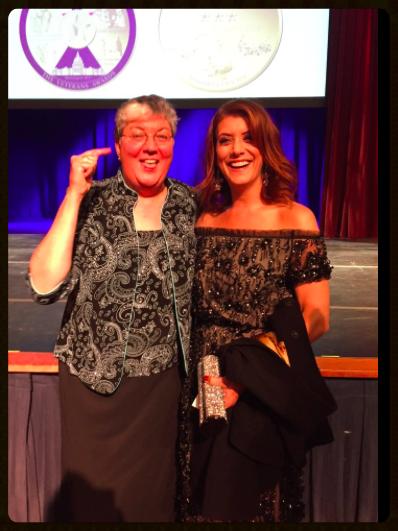 "SPARTA Pride, Winner of LGBT Award,Brenda S. (""Sue"") Fulton and Kate Walsh"