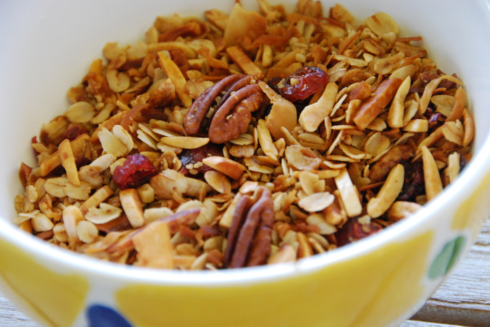 FOR CREATIVITY, TRY GRANOLA-TIVITY