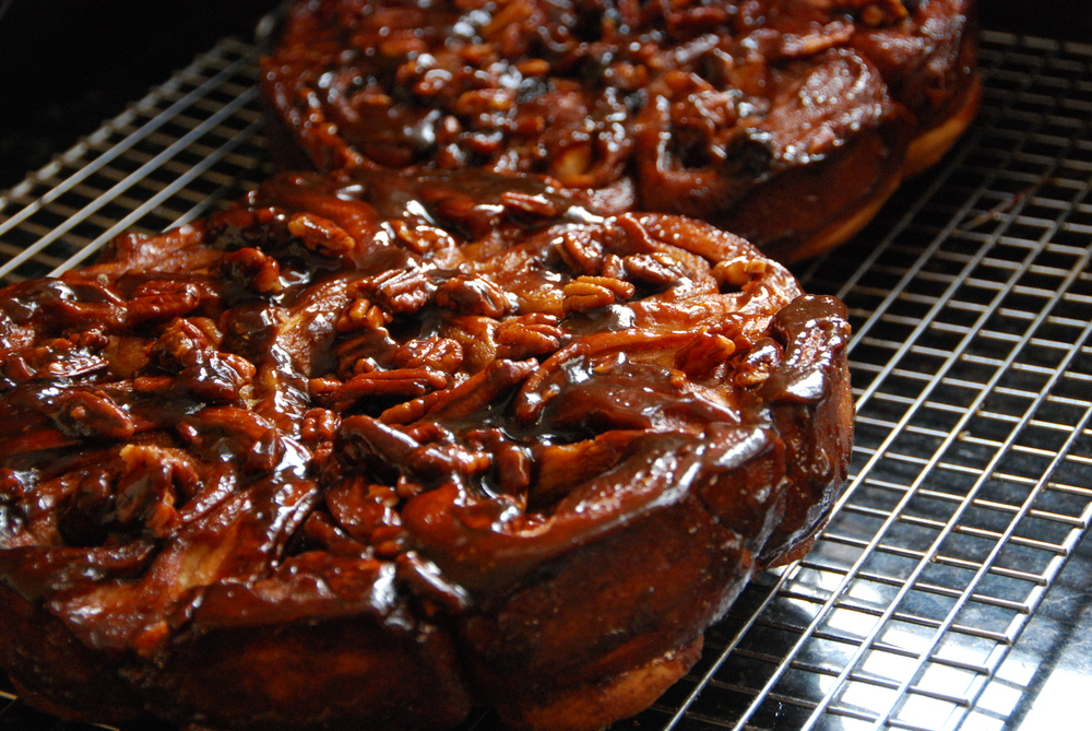 FOR RESOURCEFULNESS, TRY STICKY CINNAMON BUNS
