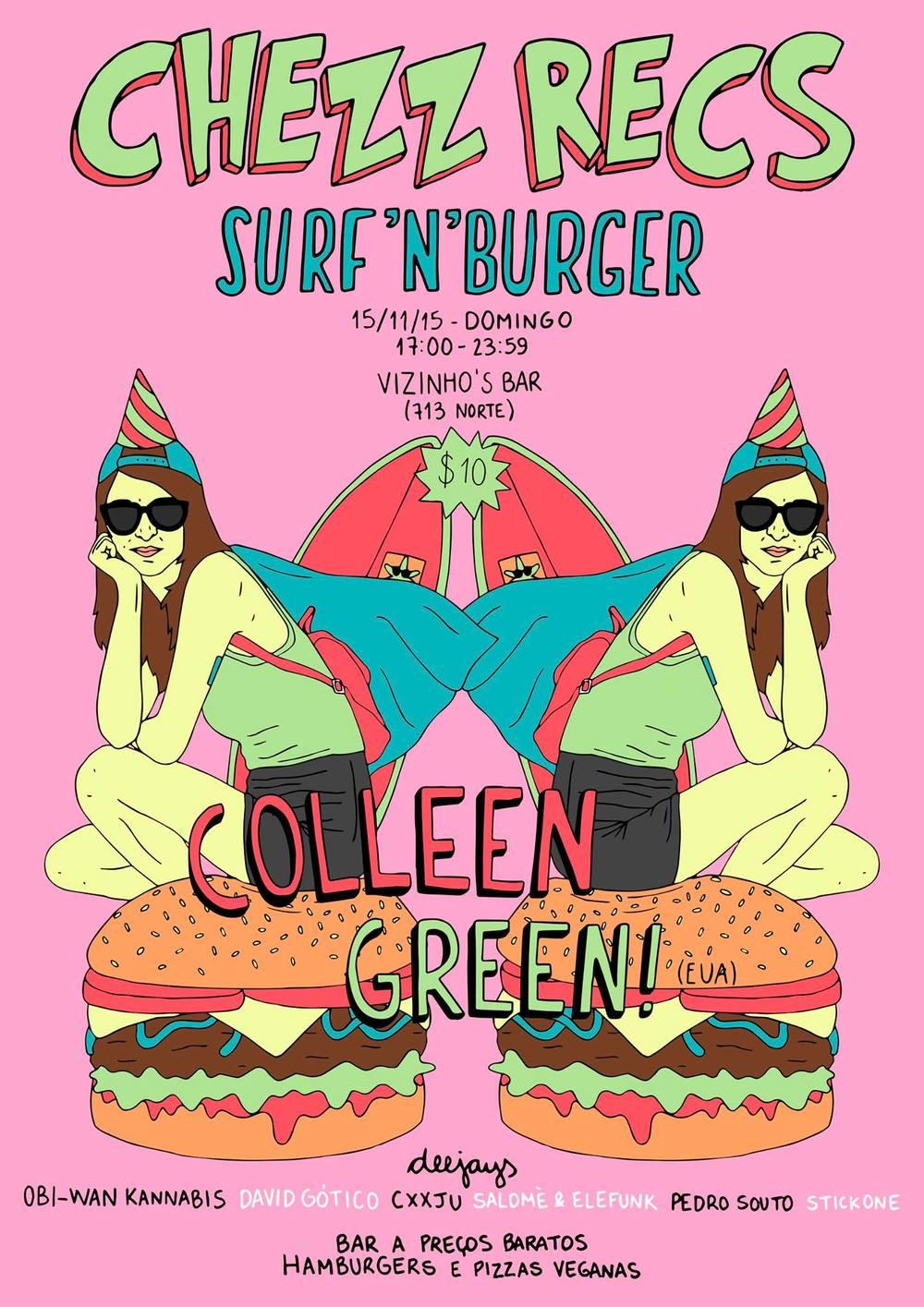 Primeira edição do SURF'N'BURGER acontece neste domingo (15/nov).