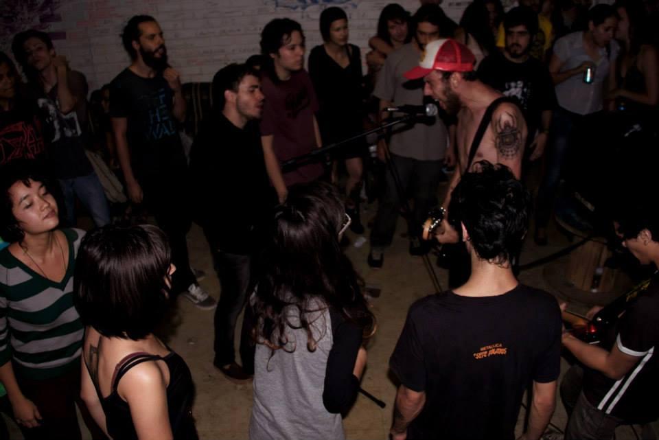 Show da banda Magodiabo na UnB.