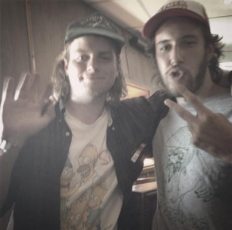 Chezz e Mac DeMarco em Toronto.
