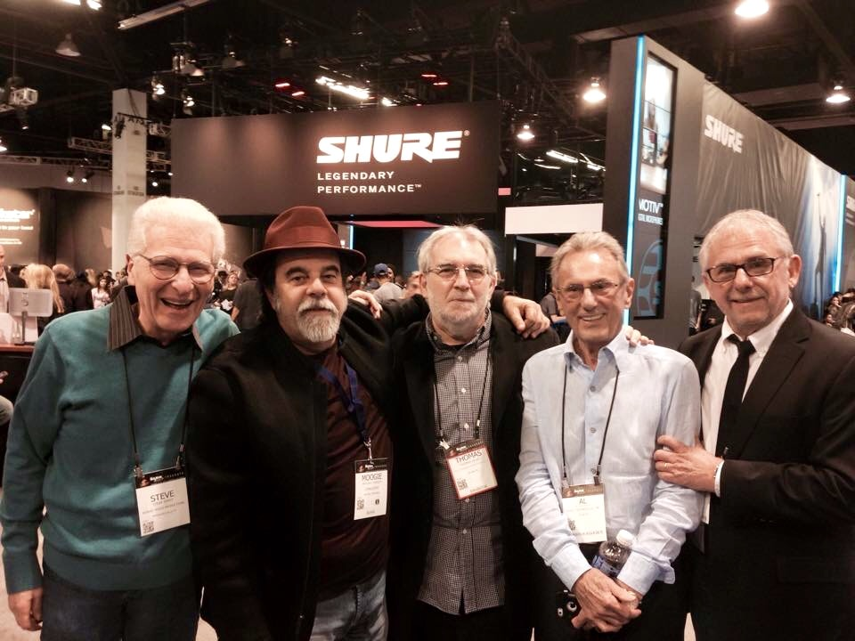 Steve, Moogie, Al and Elliott Scheiner
