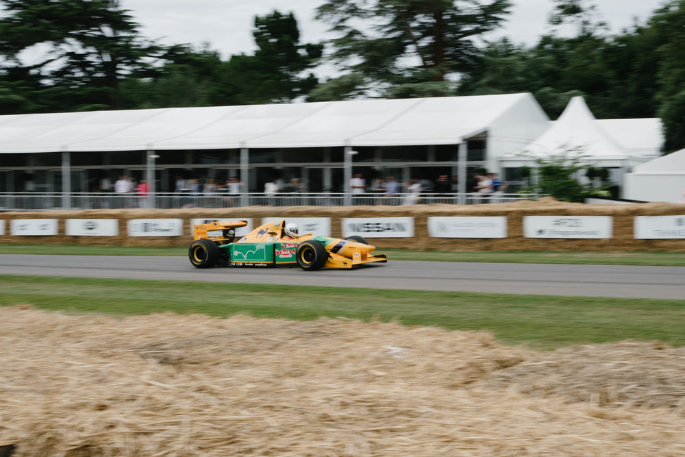 1993 Benetton Ford B193