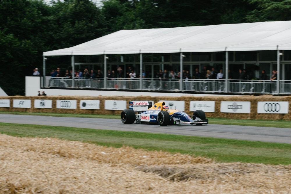 Karun Chandhok - 1992 Williams Renault FW14B