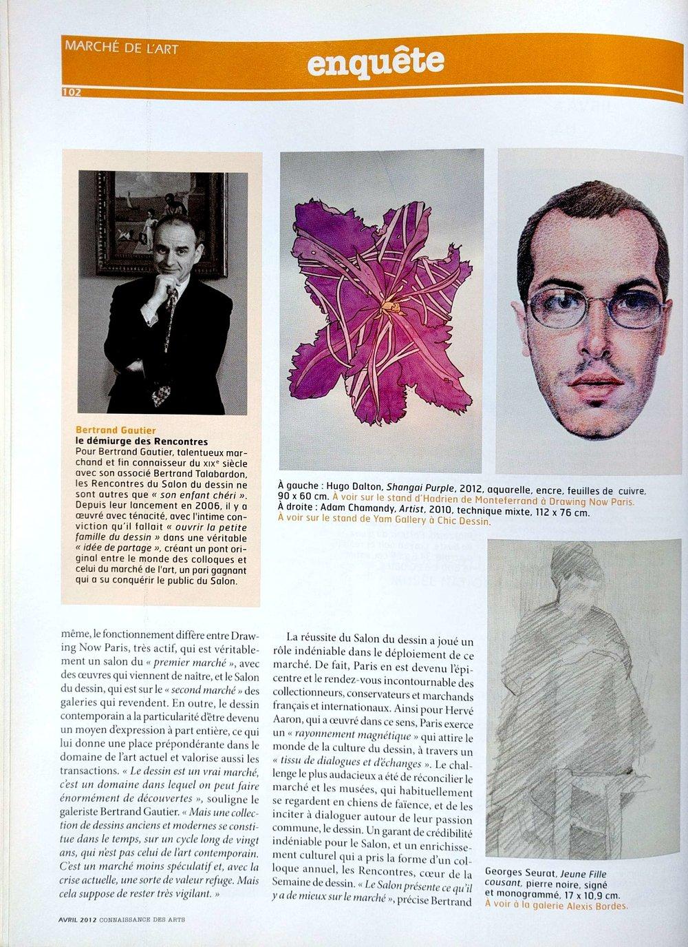 Connnaissance des Art, April 2012
