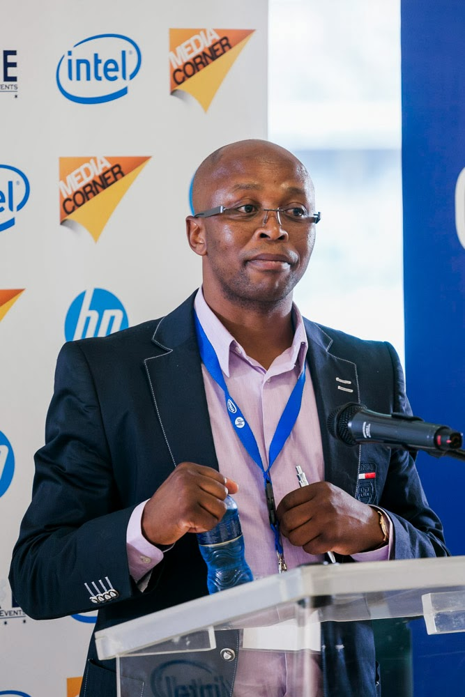 Thabani Kupe – Intel South Africa (Picture by  Colin Browne )