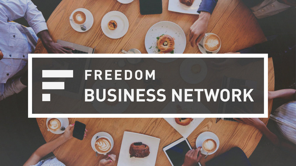 Freedom Business Network meets every Thursday at 7:30am in the Coffee Shop. Click  here  to fill out a Business Directory Profile Form.