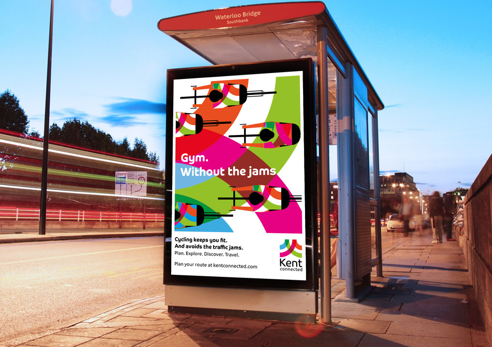 Kent Connected Active Travel campaign