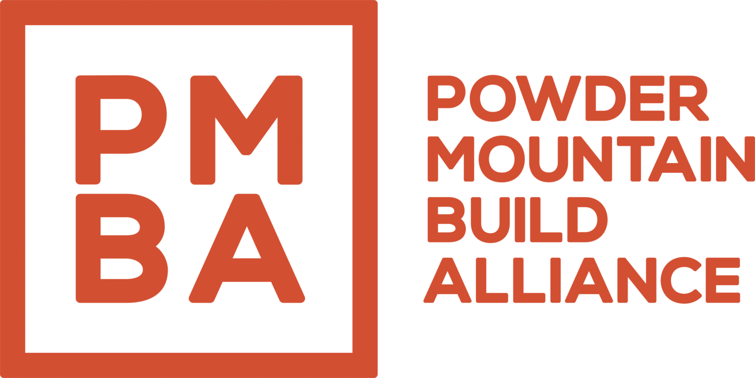 Powder Mountain Build Alliance