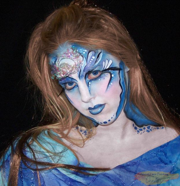 Night Fairy Facepaint