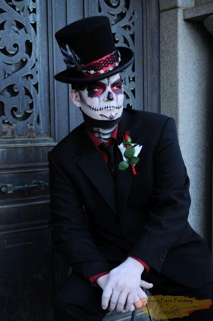 Groom Dias de los Muertos