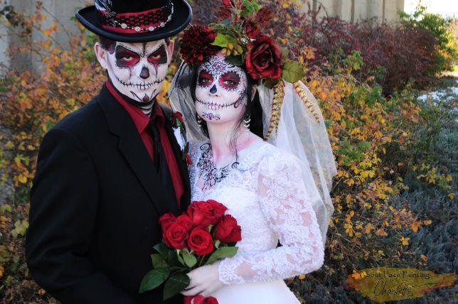 Dias de los Muertos Wedding