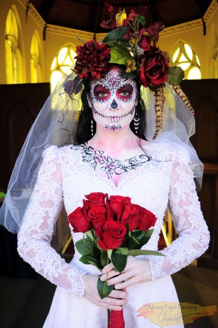 Bride Dias de los Muertos