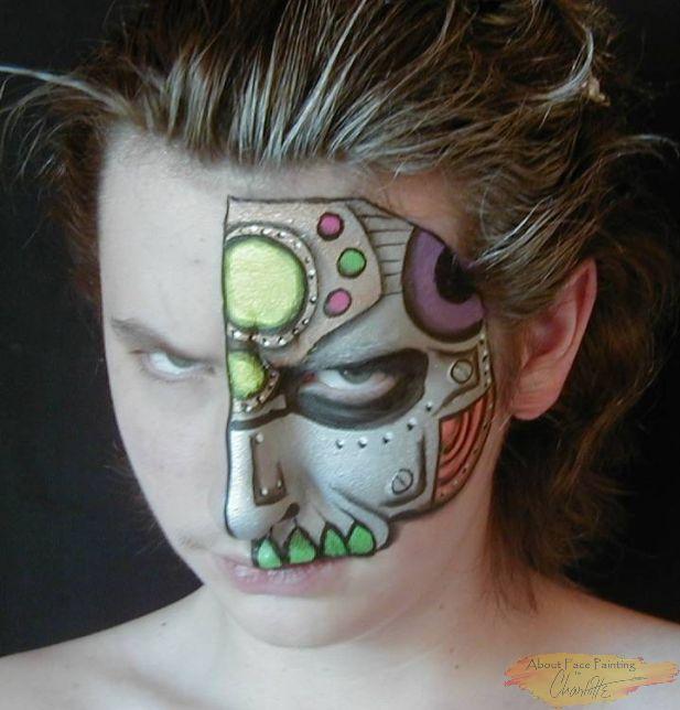Robot Facepainting