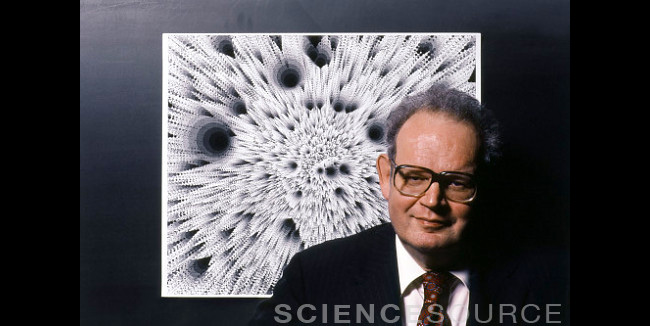 Benoit Mandelbrot, Mathematician - 6Z6152