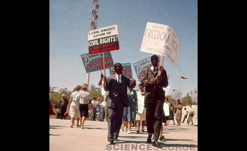 Civil Rights March - 0J3196 ©Photo Researchers