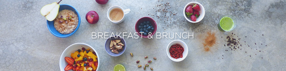 simple healthy breakfast brunch